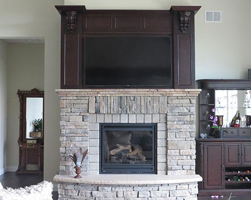 Beautiful Home Fireplace